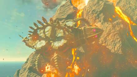 The Legend of Zelda Breath of the Wild (BotW) Vah Rudania