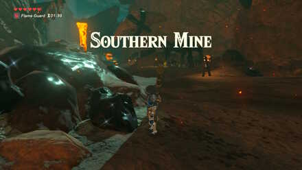 The Legend of Zelda Breath of the Wild (BotW) Reaching Southern Mine