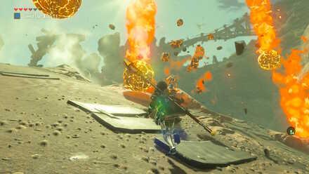 The Legend of Zelda Breath of the Wild (BotW) Magma Bombs