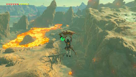 The Legend of Zelda Breath of the Wild (BotW) Gonrobi River