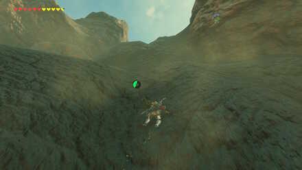 The Legend of Zelda Breath of the Wild (BotW) Climbing Death Mountain