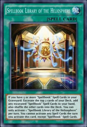 Spellbook Library of the Heliosphere