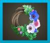Cool Windflower Wreath Icon