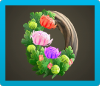 Fancy Mum Wreath Icon