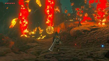 The Legend of Zelda Breath of the Wild (BotW) Magma Bombs.jpg
