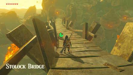 The Legend of Zelda Breath of the Wild (BotW) Stolock Bridge