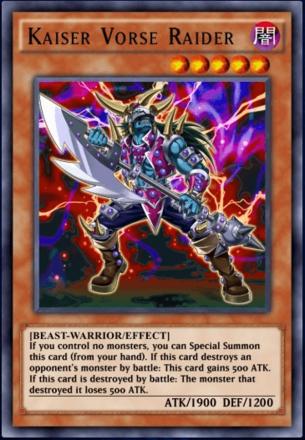 Kaiser Vorse Raider