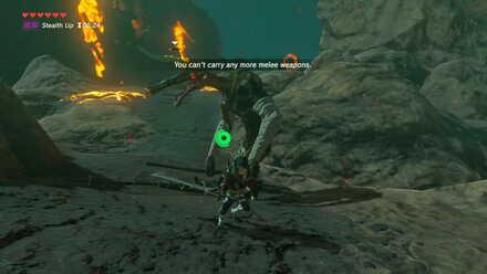 The Legend of Zelda Breath of the Wild (BotW) Defeating Black Moblin.jpg