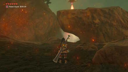 The Legend of Zelda Breath of the Wild (BotW) Hiding from Sentry.jpg