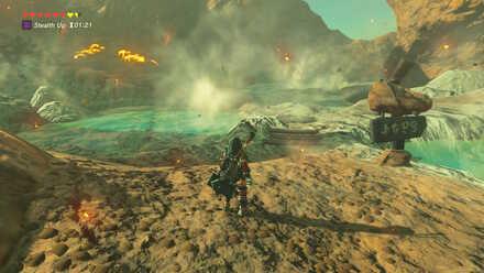 The Legend of Zelda Breath of the Wild (BotW) Goron Hot Springs