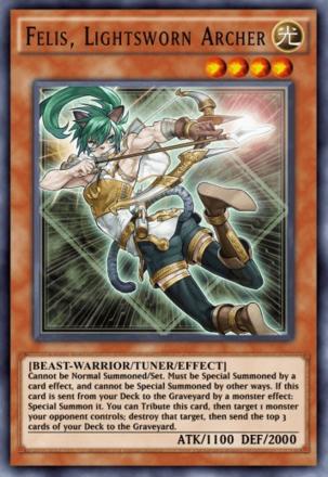 Felis Lightsworn Archer