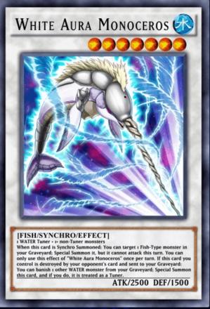 White Aura Monoceros