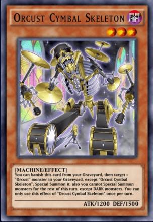Orcus Cymbal Skeleton
