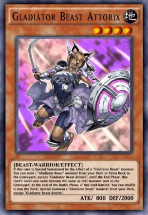 Gladiator Beast Attorix