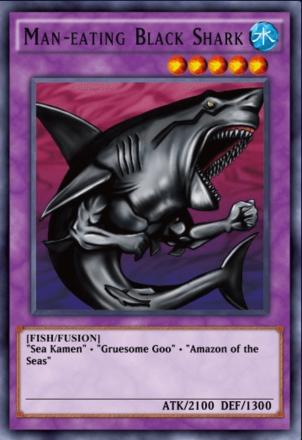 Man-Eating Black Shark