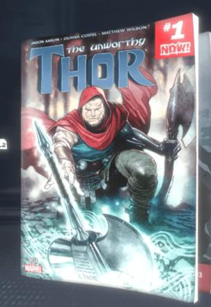 The Unworthy Thor (2016) #1