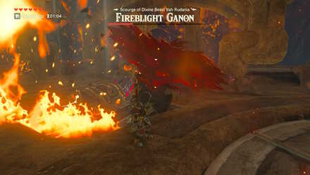 The Legend of Zelda Breath of the Wild (BotW) Fireblight Ganon Fire Slash.jpg