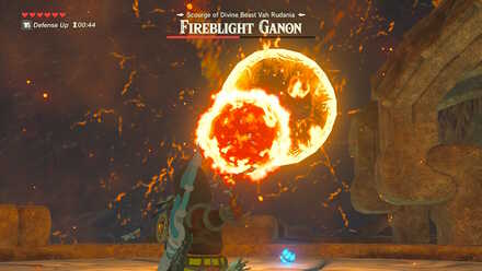 The Legend of Zelda Breath of the Wild (BotW) Fireblight Ganon Big Fireball.jpg