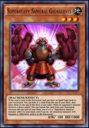 Superheavy Samurai Gigagloves
