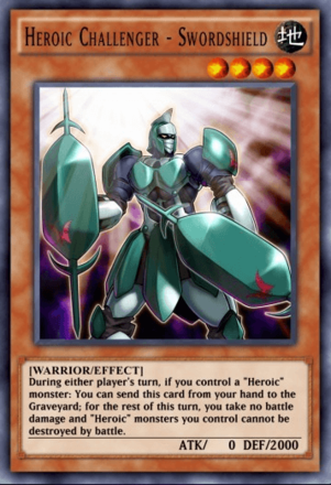 Heroic Challenger - Swordshield