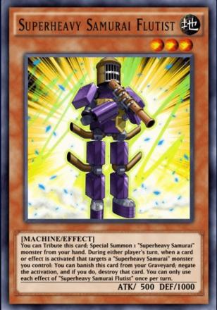 Superheavy Samurai Flutist