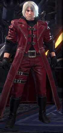 Dante Alpha Armor Set