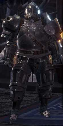 High Metal Beta Armor Set