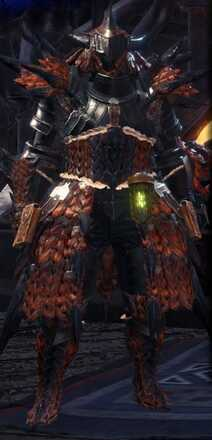 Rathalos Alpha Armor Set