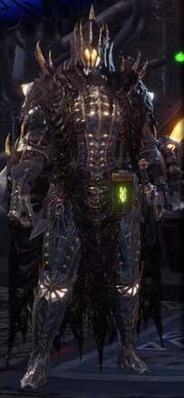 Vaal Hazak Alpha Armor Set