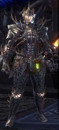 Vaal Hazak Beta Armor Set