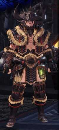 Bone Alpha Armor Set