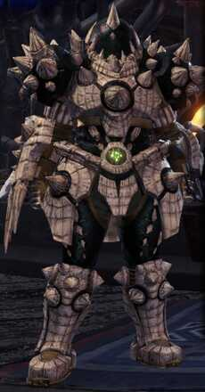 Baan Beta Armor Set