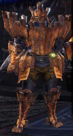 Barroth Alpha Armor Set