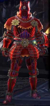 Teostra Gamma Armor Set