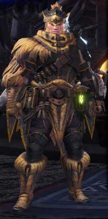 Jagras Alpha Armor Set