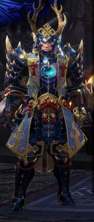 Azure Starlord Alpha Armor Set