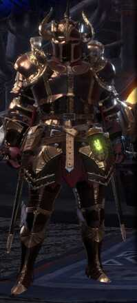 Damascus Beta Armor Set