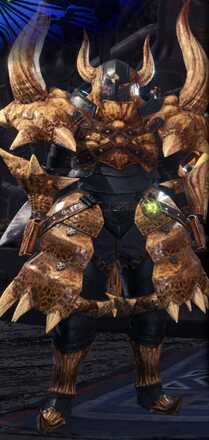 Diablos Alpha Armor Set