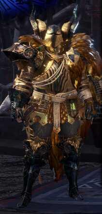 Kulve Taroth Alpha Armor Set
