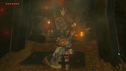 The Legend of Zelda Breath of the Wild (BotW) Boulder Breaker in Treasure Chest
