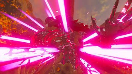 The Legend of Zelda Breath of the Wild (BotW) Defeating Fireblight Ganon