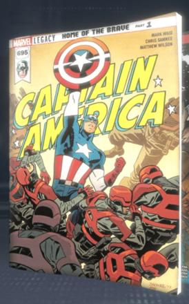 Captain America (2017) #695
