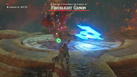 The Legend of Zelda Breath of the Wild (BotW) Fireblight Ganon Side Slash.jpg