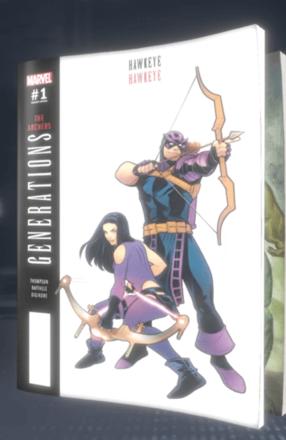 Generations: Hawkeye & Hawkeye (2017) #1 (Variant)