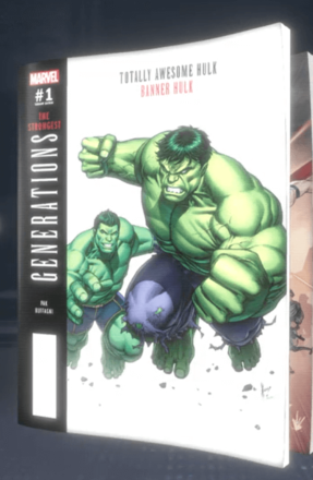 Generations: Banner Hulk & The Totally Awesome Hulk (2017) #1 (Variant)