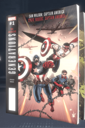 Generations: Sam Wilson Captain America & Steve Rogers Captain America 1 (2017) #1