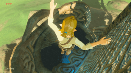 Botw - Get Down from the Tower