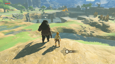 Botw - Talk to the Old Man Again