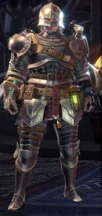 Alloy Alpha + Armor Set