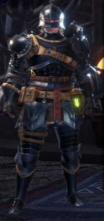 Alloy Beta + Armor Set